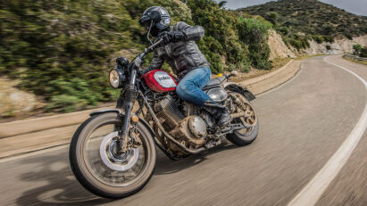 Fahrtest: Yamaha SCR950 Scrambler aus Fernost