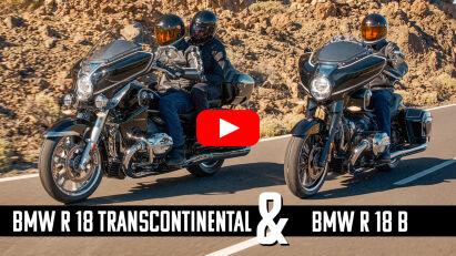 BMW R 18 Transcontinental & R 18 B Neuvorstellung – Big Boxer auf großer Fahrt