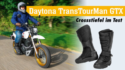 Daytona TransTourMan GTX: Crossstiefel im Test