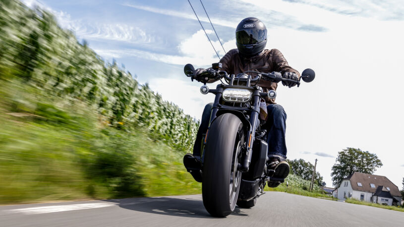 Harley-Davidson Sportster S Frontansicht