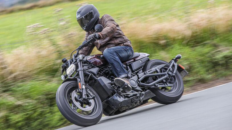 Harley-Davidson Sportster S - Seitenansicht