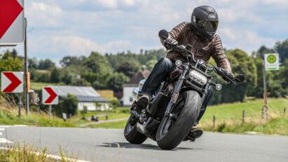 Fahrtest Harley-Davidson Sportster S – Die Sportster neu erfunden