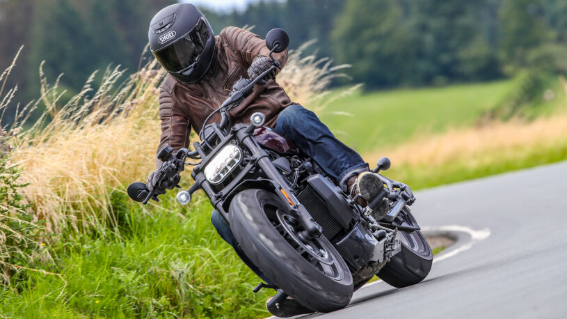 Harley-Davidson Sportster S Kurve