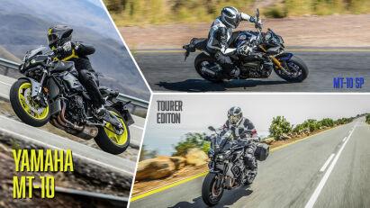 Fahrtest: Yamaha MT-10, SP & Tourer Edition