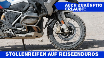Gesetzesänderung: M+S-Reifen sind auf BMW GS & Co. auch zukünftig erlaubt