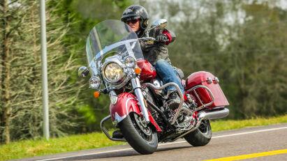 Fahrtest Indian Springfield – drei auf einen Streich!
