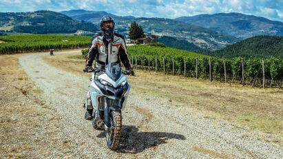 On- und Offroad Fahrtest : Ducati Multistrada 1200 Enduro