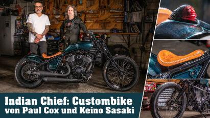 Indian Chief: Custombike von Paul Cox und Keino Sasaki