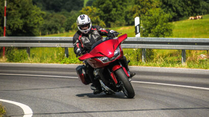 Fahrtest: Honda CTX 1300