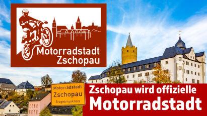 Zschopau ist offiziell Motorradstadt