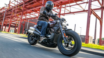 Die Sportster neu erfunden:Harley-Davidson Sportster S