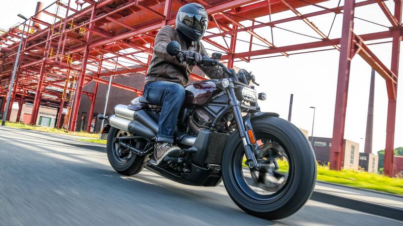 Die Sportster neu erfunden: Harley-Davidson Sportster S