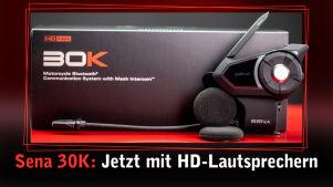 Sena 30K: Jetzt mit HD-Lautsprechern