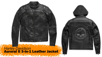 Anprobiert: Harley-Davidson Lederjacke II Auroral 3-in-1