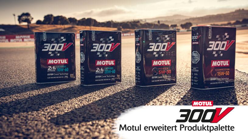 Motul erweitert Produktpalette - 300V-Motoröl