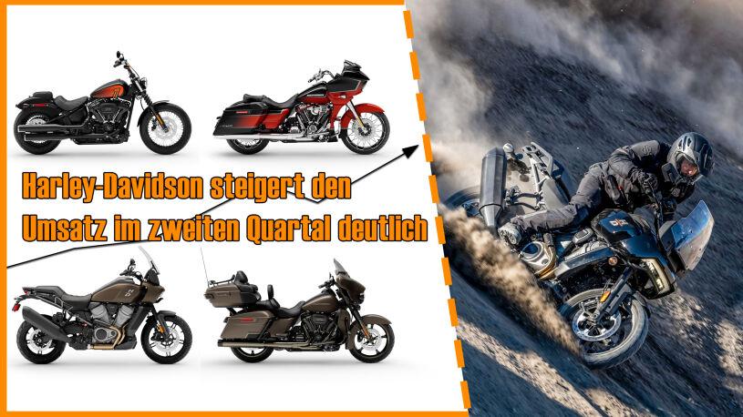 Harley-Davidson Gewinne im zweiten Quartal