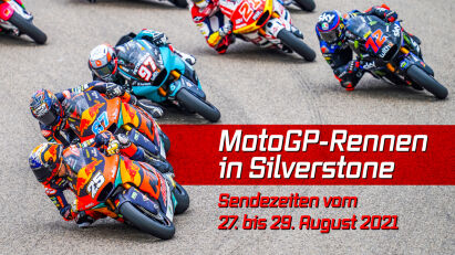 MotoGP in Silverstone: Sendezeiten im Überblick
