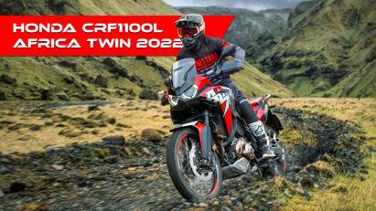 CRF1100L Africa Twin – Honda nennt Details zum Modelljahr 2022