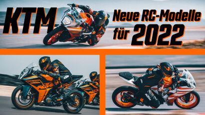 KTM präsentiert die 2022er RC-Supersportfamilie