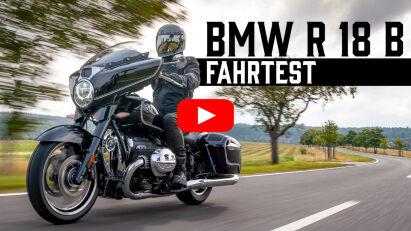 Erste Fahreindrücke BMW R 18 B – Think big, fahr Bagger