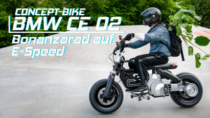 Concept-Bike BMW CE 02 – Bonanzarad auf E-Speed