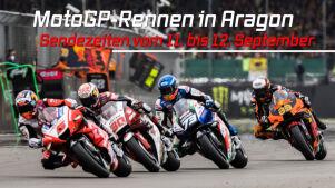 MotoGP-Rennen in Aragon: Die Sendezeiten vom 10.09.21 bis 12.09.21 im Überblick