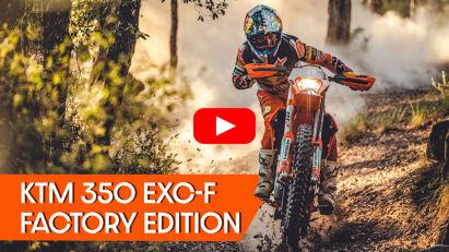 KTM 350 EXC-F Factory Edition 2022: Den Werksmaschinen dicht auf der Spur