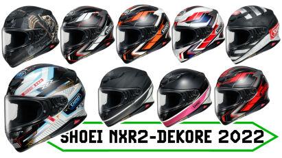 Shoei NXR2: Neue Dekore für die Saison 2022