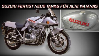 Suzuki Vintage Parts Programm: Fabrikneue Ersatzteile für Katana und Co.