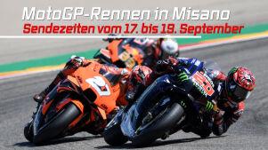 MotoGP-Rennen in Misano: Die Sendezeiten vom 17.09. bis 19.09.21 im Überblick