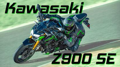Kawasaki stattet das Z900 Topmodell SE mit Brembo- und Öhlins-Komponenten aus