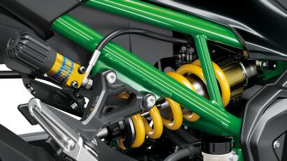 Kawasaki Z900 SE Oehlins-Federung