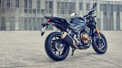 Honda CB500F Heckansicht
