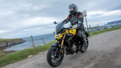 Honda CB500F im Fahrtest