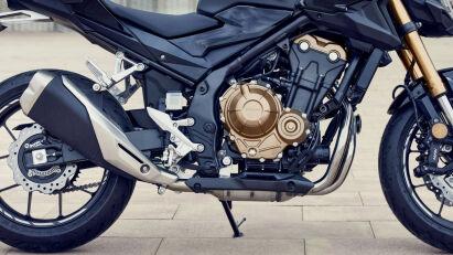 Honda CB500F Seitenansicht
