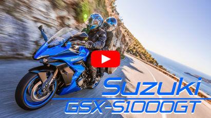 Suzuki GSX-S1000GT: Sportlicher Tourer mit TFT-Farbdisplay und Smartphone-Navigation