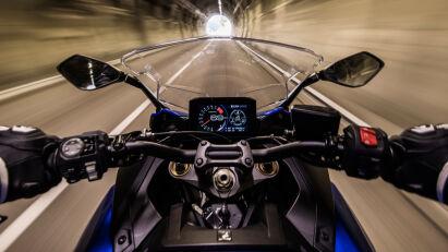 Suzuki GSX-S1000GT Cockpit