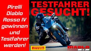 Pirelli Diablo Rosso IV gewinnen und Testfahrer werden!