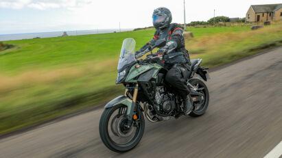 Die Honda CB500X eignet sich trotz kleinem Hubraum für ausgedehnte Touren.