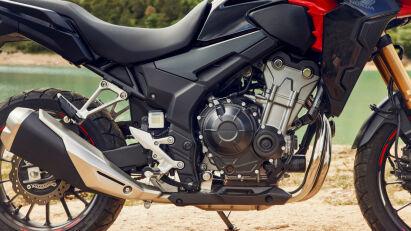 Der Motor der Honda CB500X