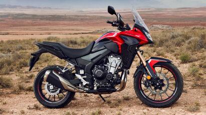 Honda CB500X rot