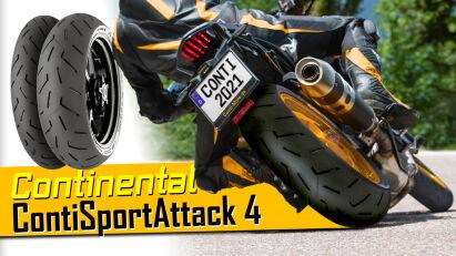 Continental stellt weitere Service-Informationen und Herstellerbescheinigungen für den ContiSportAttack 4 aus