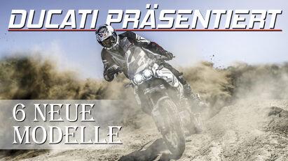 Ducati präsentiert das Adventure-Bike DesertX und mindestens fünf weitere neue Modelle