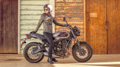Kawasaki Z650RS - Seitenansicht