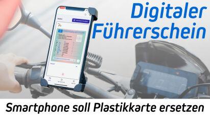 Digitaler Führerschein: Smartphone soll Plastikkarte ersetzen