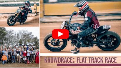 """Deutsche Flat-Track-Rennserie """"Krowdrace"""": Saisonfinale am 8. und 9. Oktober 2021"""
