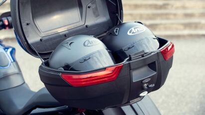 Triumph Tiger Sport 660 - Koffer und Helme