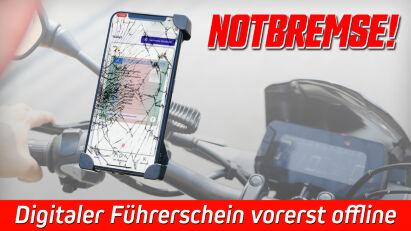 Notbremse beim digitalen Führerschein: ID Wallet App vorerst offline