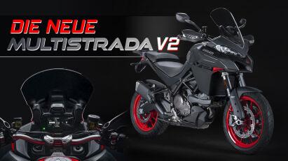 Neue Ducati Multistrada V2: Your everyday wonder