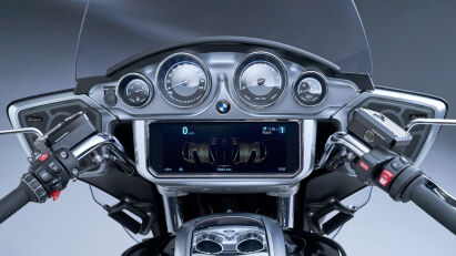Cockpit der BMW R 18 Transcontinental